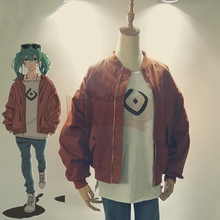 VOCALOID Hatsune Miku Sand Planeten cosplay Kostüm Suna keine Wakusei mantel hemd Miku mantel braun top