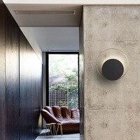 Art Deco wall lamp creative personality living room wall lamp modern minimalist round aisle bedroom lamp
