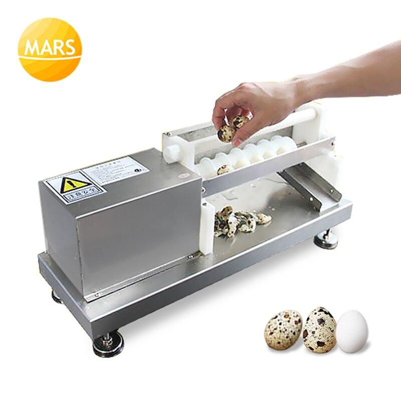 Автоматический Eletric Quail Brid очиститель яиц машина Халлер машина Шеллер машина; Птица Яйцо Пилинг машина