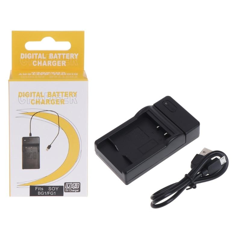 USB Carregador de Bateria Para Sony CyberShot NP-BG1 DSC-HX30V DSC-HX20V DSC-HX10V