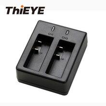 Chargeur de batterie double ThiEYE pour i60 +, i30 +, i20 accessoires de caméra daction pour caméra daction