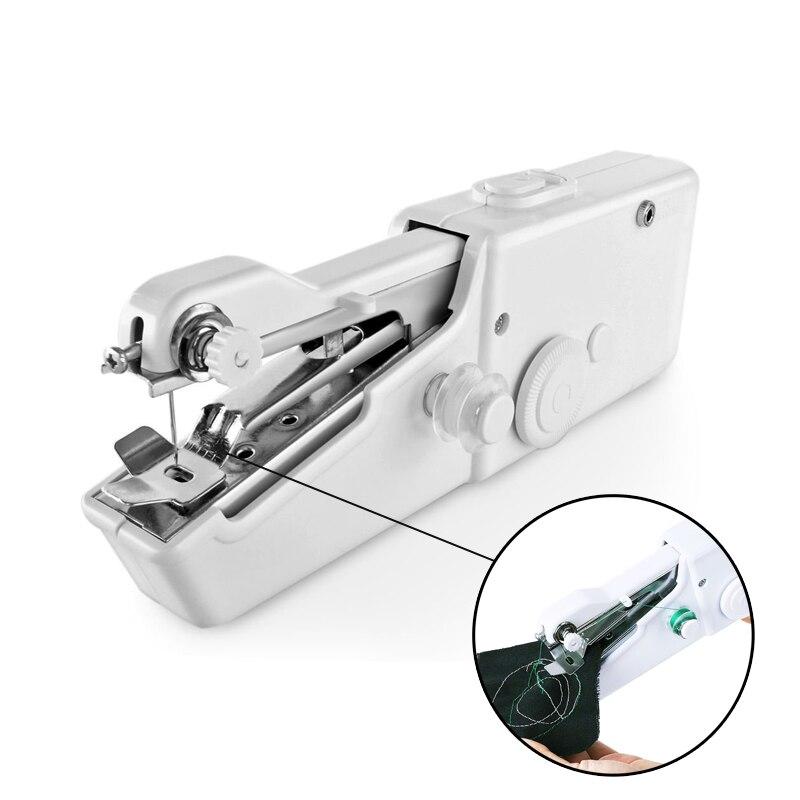 Портативная швейная машинка, портативная беспроводная ручная швейная машинка для шитья, ручная швейная машинка для быстрого шитья, для дома и путешествий, 2020