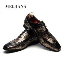 MeiJiaNa homme chaussures marque en cuir hommes chaussures de luxe Oxford marque hommes chaussures habillées