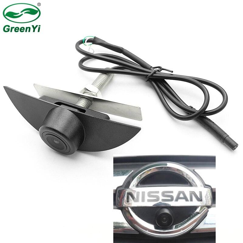 CCD HD Nachtsicht Frontkamera Fahrzeug logo Kamera Für Nissan X-Trail Tiida Qashqai Livina fairlady Pulsar cube Armada