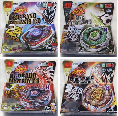 Bayblade 30 unids/lote gratis 31 orzuelo Spinning Top Metal lucha BB106 de Fang Leone 130W2D BB126 BB120 BB128 BB119 BB123
