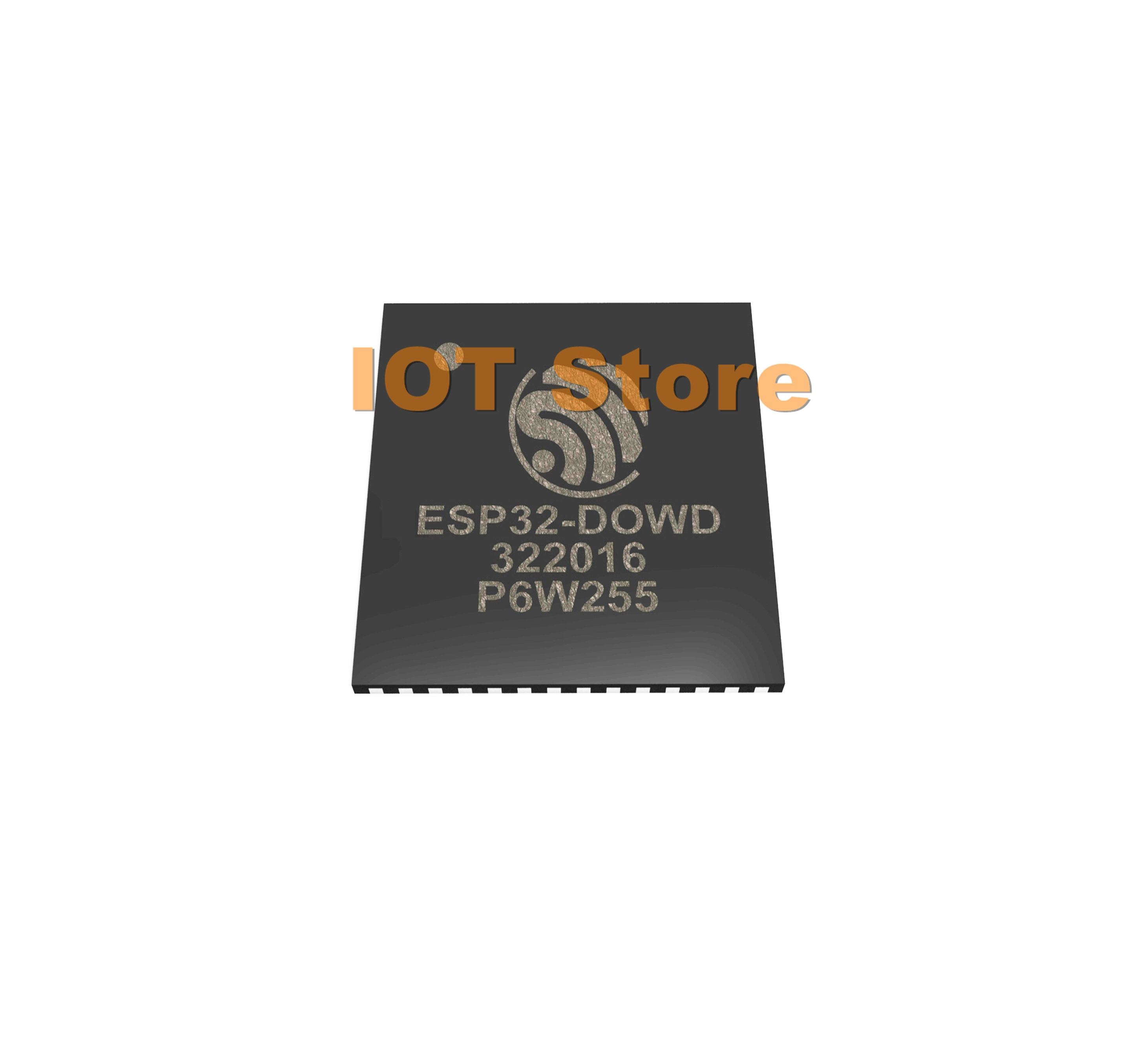 1 Sistema de ESP32-D0WD ESP32-DOWD ESP32 SMD IC ESP32D0WD dual-core MCU Wi-Fi Bluetooth combo QFN 48pin 5*5mm