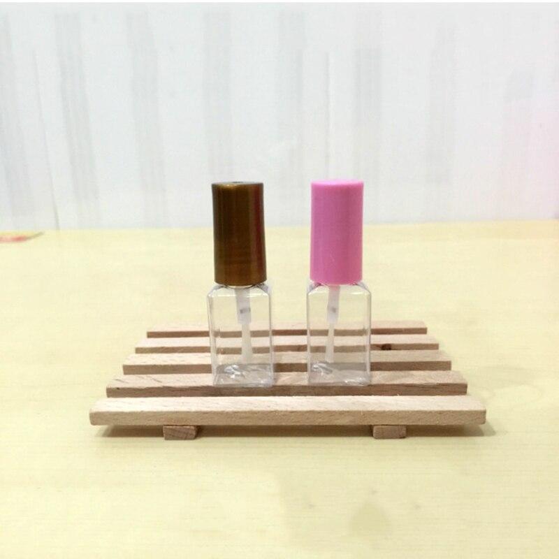 Esmalte de uñas vacío de plástico de 8 ml, botella con cepillo DIY, crema para pestañas, colorete, recipiente con envío gratis