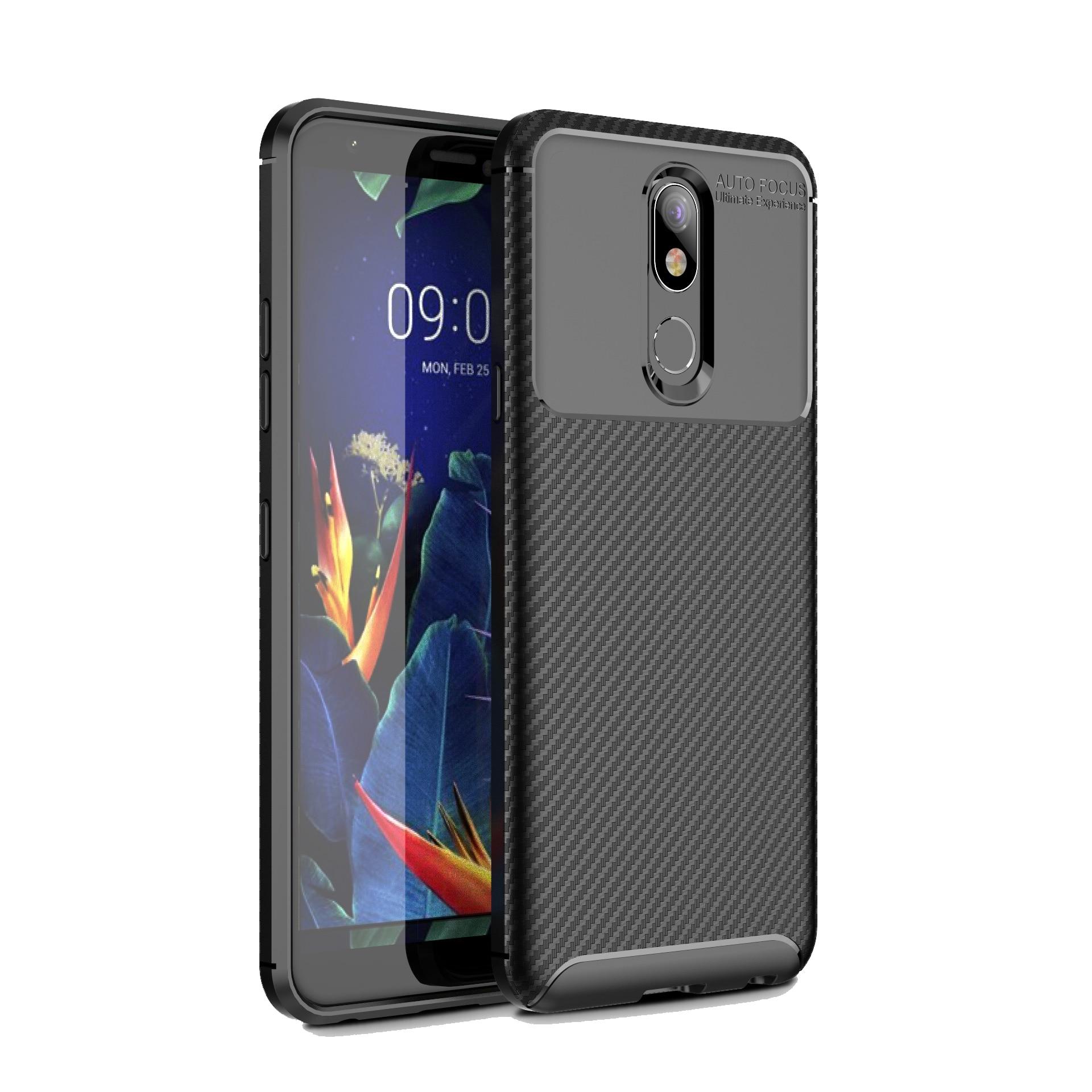 De moda a prueba de golpes a prueba de negocios de silicona suave TPU armadura protectora cubierta para LG K40 LGK40 DE CASO caso de teléfono de Coque casos