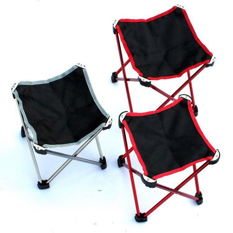 Складной мини стул Mounchain из алюминиевого сплава ультралегкое портативное