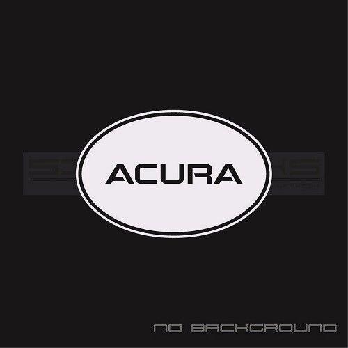 For 2Pcs/Pair Acura Decal Sticker logo emblem TL RSX TSX TL RDX MDX aspec round circle Pair Car Styling