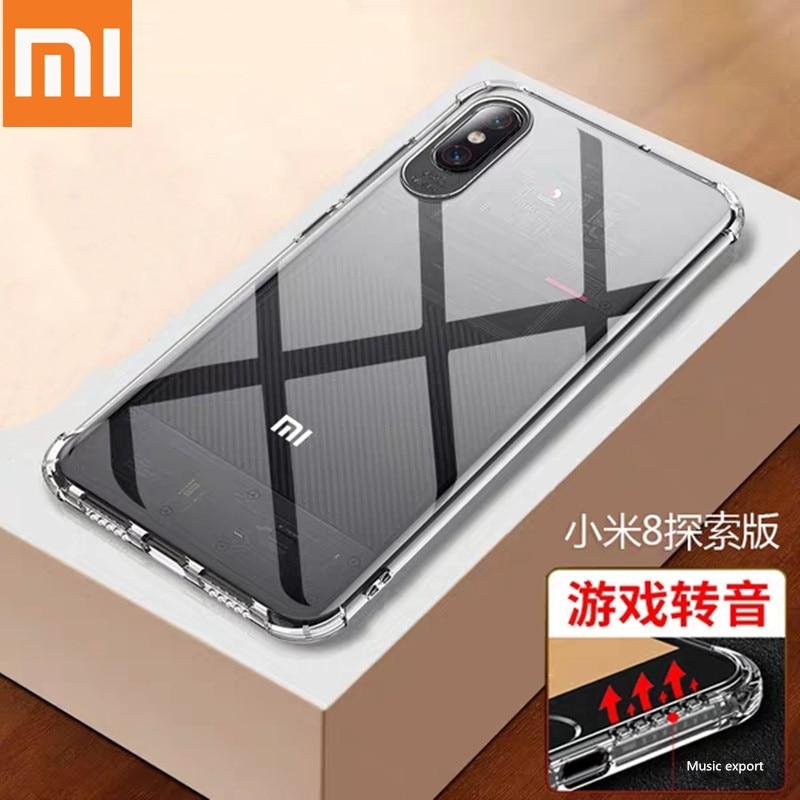 Чехол для Xiaomi mi 8 mi8 6 a1 a2 lite max3 mix2 mix2S pocophone f1 tpu redmi note 6 5 plus 6a pro xaomi xiomi xiami