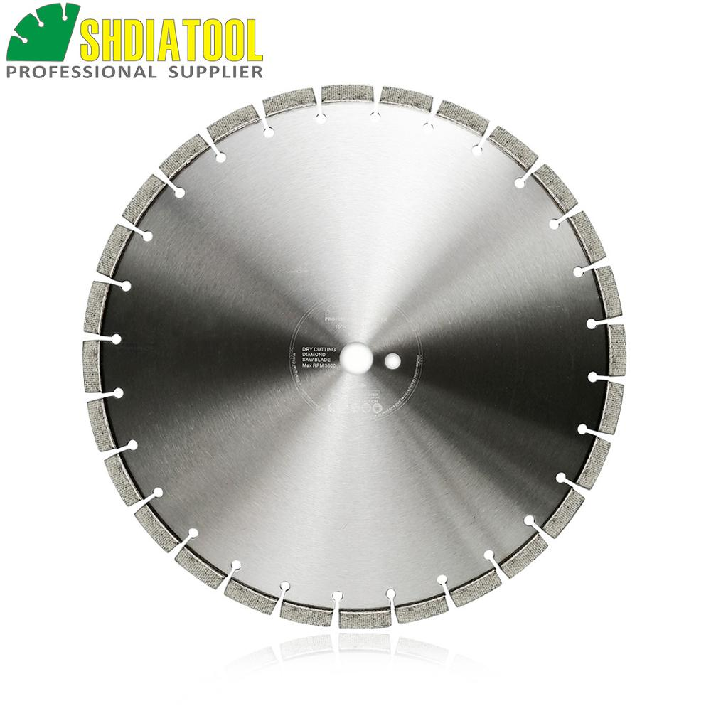 SHDIATOOL 1pc Dia 16inch/414mm Laser Welded Arrayed Diamond Saw Blade Reinforced Concrete Cutting Disc