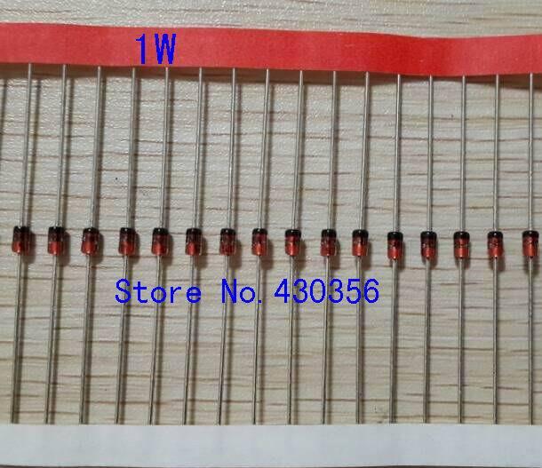 Frete grátis 100 pcs 1N4742A 1 W 12 V diodo Zener
