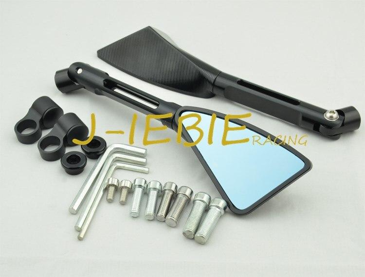Adaptadores CNC y espejos radiales dinámicos Tomok para HONDA CBR600RR F5 CBR900RR CBR954RR CBR1000RR KAWASAKI NINJA ZX6R ZX636 ZX10R