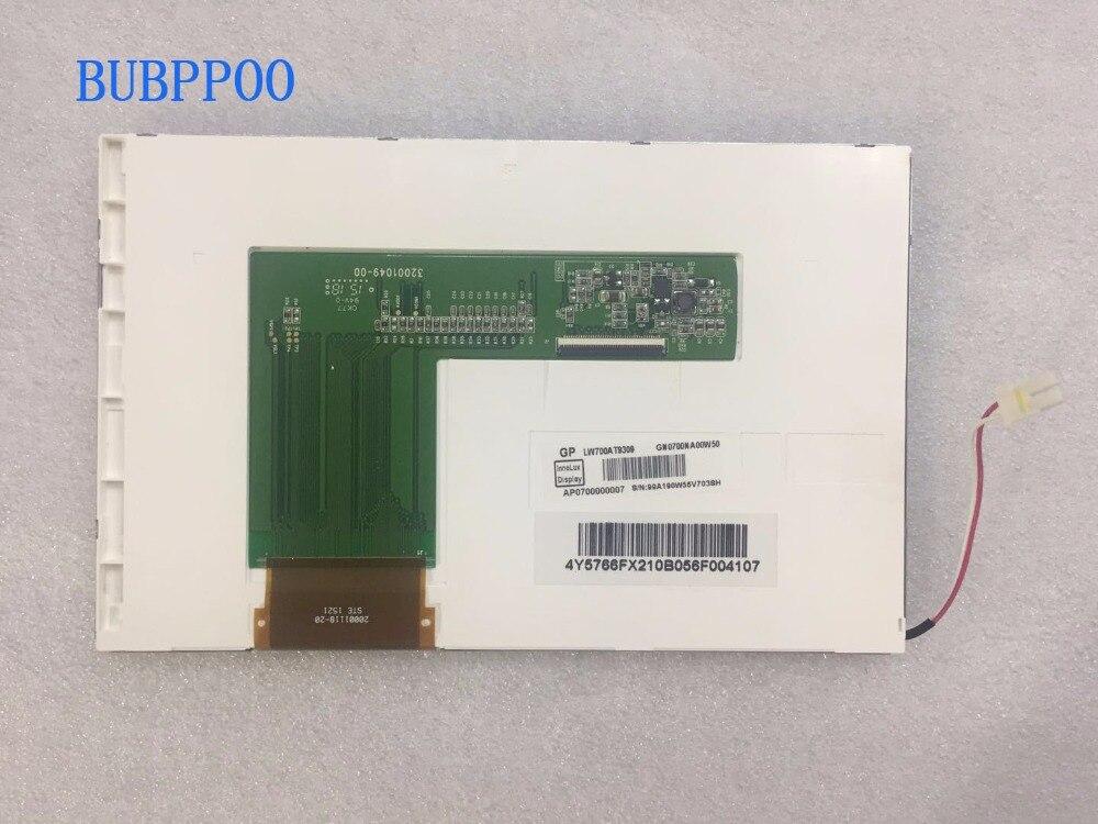 BUBPPOO frete grátis original novo 7 polegadas LW700AT9309 tela de exibição industrial