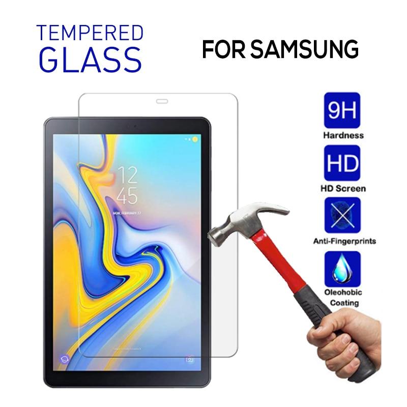 Vidrio templado para Samsung Galaxy Tab A 10,5 2019 7,0 8,0 9,6, Protector de pantalla activo 2 Tab A 10,1 T580 T350 T560 T377