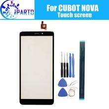 CUBOT NOVA Touchscreen Glas 100% Garantieren Original Digitizer Glas Panel Touch Ersatz Für CUBOT NOVA