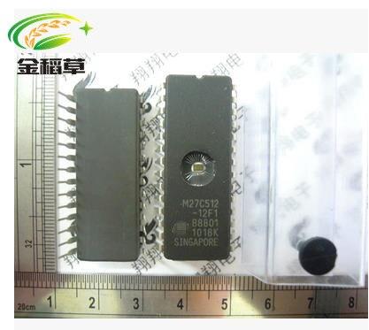 Freies verschiffen 50 stücke neue ST M27C512-12F1 27C512 DIP-28 EPROM IC CHIPS Stick IC