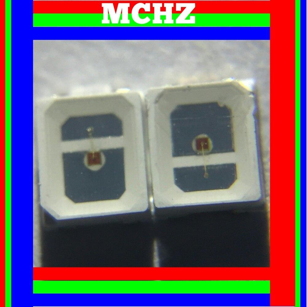 1000pcs/lot SMD LED 2835 lamp beads highlight 0.3W 90ma 2V-2.6V red 625nm light-emitting diode Plant lamp beads