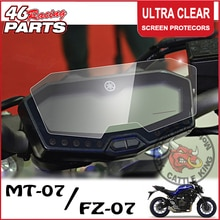 Ck gado rei cluster scratch cluster protetor de filme proteção tela para yamaha mt07 mt 07 MT-07 fz07 fz 07 FZ-07