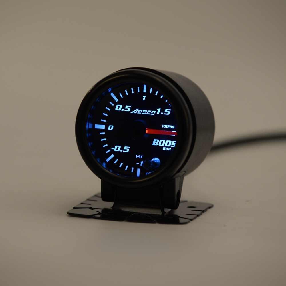 S Auto 2 52mm 7 Color Led Smoke Face Bar Turbo Boost Gauge Meter With Sensor Car Meter Gauge Ad Ga52boostbar Gauge Meter Gauge Boostgauge Turbo Boost Aliexpress