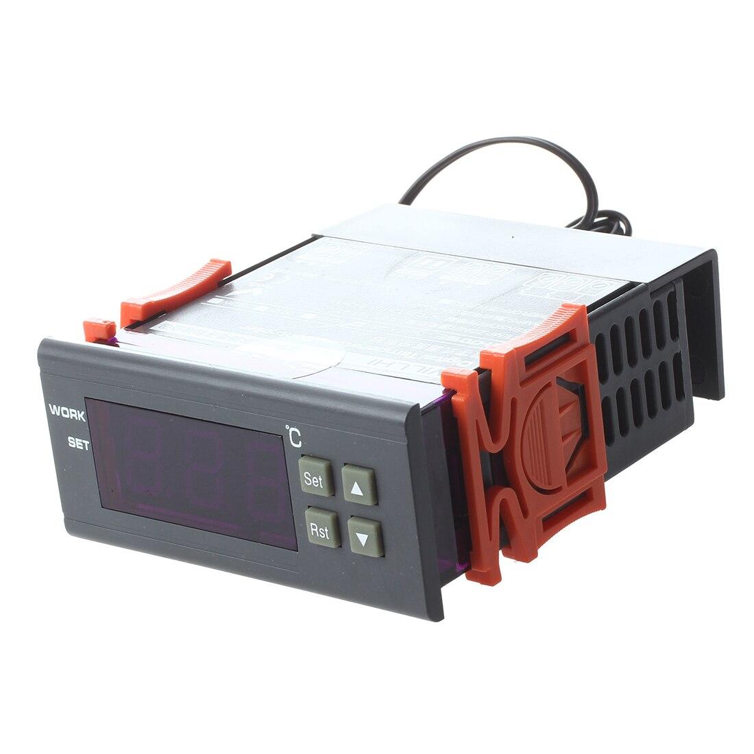 ЖК-дисплей 220 В цифровой регулятор температуры Термостат для аквариумные и террариумные инкубаторы палудариумы