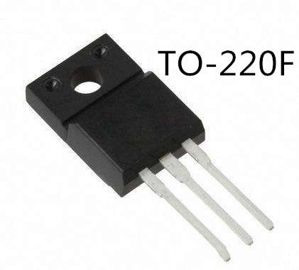 10 pçs/lote FQPF3N80C F3NK80Z 3A/800V TO-220F