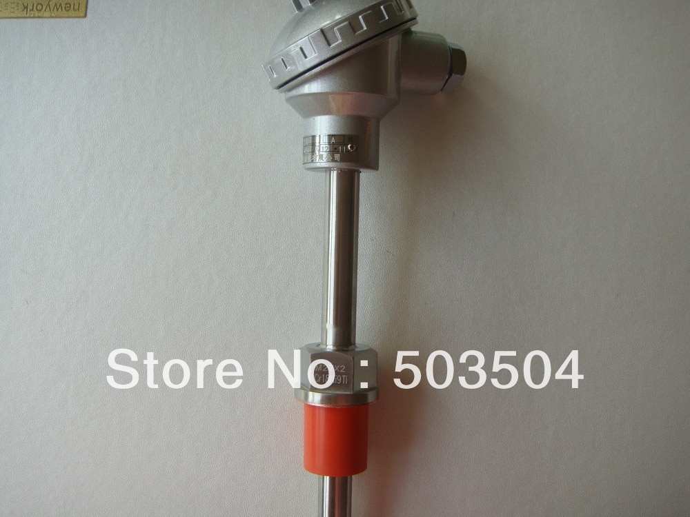 Termopar WRN con rosca M27 * 2, tipo K, diámetro 0-1000C 16mm