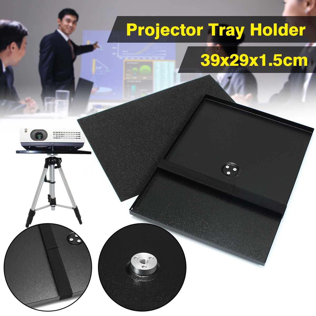 Металлический лоток проектора держатель для 1/4 ''3/8'' винтовой штатив и 7 ''-15'' ноутбук для проекционных мониторов прочный