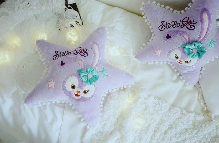 1 ud. 50cm encantadora stella lou ballet conejo estrella muñeca de felpa dulce dormir hold almohada cojín peluche juguete niña niño regalo creativo
