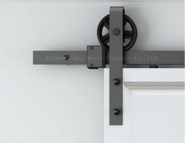 Раздвижные двери Dimon на заказ, оборудование для раздвижных дверей с комплекты амортизаторов, американский стиль, оборудование для раздвижн...