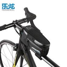 ROSWHEEL ATTACK 2017 100% sac de vélo étanche avant faisceau cadre Tube sac vtt route Foldig vélo téléphone sac vélo accessoires