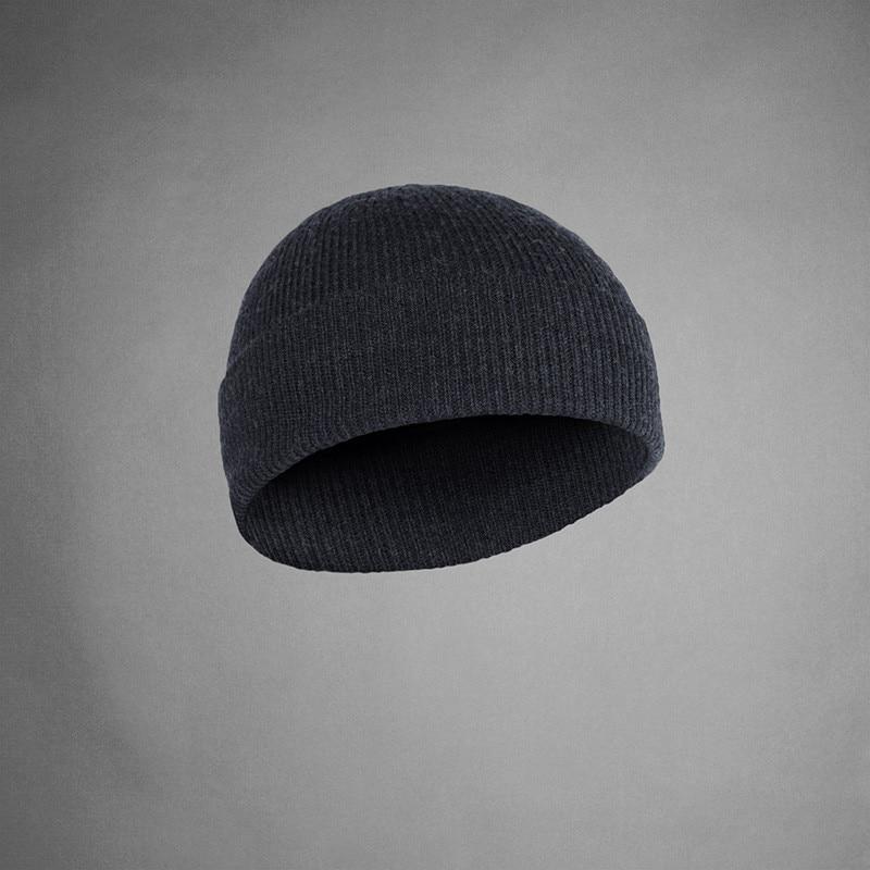 100% Super Fine merino wool men women unisex Beanie Hat Sports warmer thermal winter outdoors Ribbed Knit Warden TAD Style Cap
