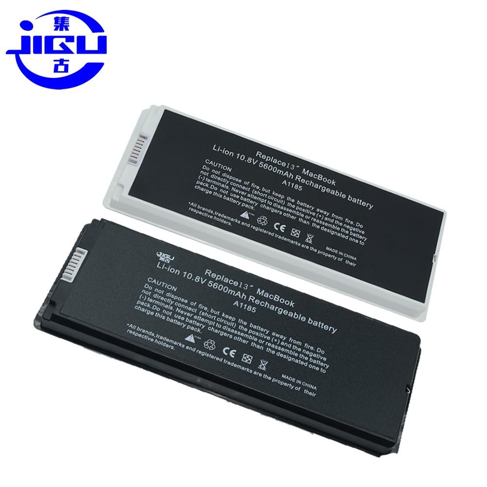 JIGU-بطارية سوداء لجهاز Macbook 13 بوصة ، لجهاز Apple A1185 A1181 ، MA472 MA701 MA566 MA566FE/A MA566G/A MA566J/A