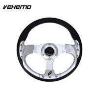 Vehemo 13 Cars Universal Fashion Racing Wheel Modified Sports Modified Steering Wheel Auto Steering Wheel Hub Button