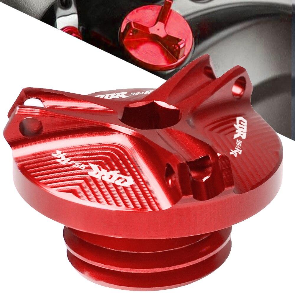 Accesorios de la motocicleta piezas conector de drenaje de aceite del motor de sumidero copa de tuerca tapón para Honda CBR954RR CBR 954RR CBR-954RR 2002, 2003