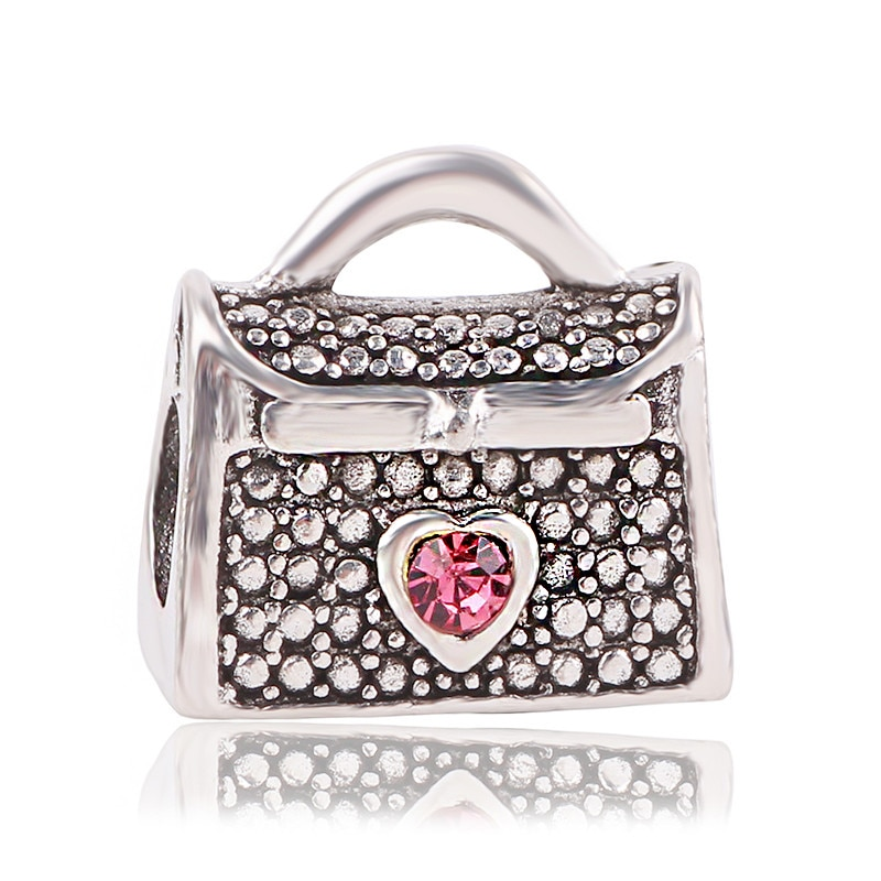 dodocharms 2020 New Alloy Bead Charm European Vintage Money Dollar Bag Beads Fit Pandora Women Bracelet & Bangle DIY Jewelry