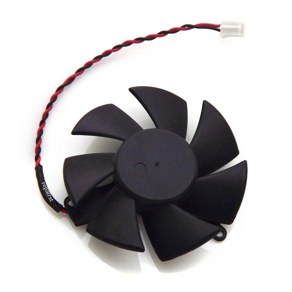 Кулер для видеокарты HD 6450/6750 GPU VGA, вентилятор для Radeon HD6450 HD6570, R5-230 охлаждение видеокарты