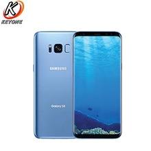 "Original Samsung Galaxy S8 + G955U AT & T Version handy 6.2 ""4GB 64GB Snapdragon 835 OctaCore Android einzelne SIM G955A Telefon"