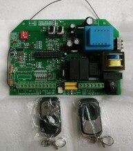 Panneau de commande douvre-porte coulissant   Avec 2 pièces de télécommande, code roulant
