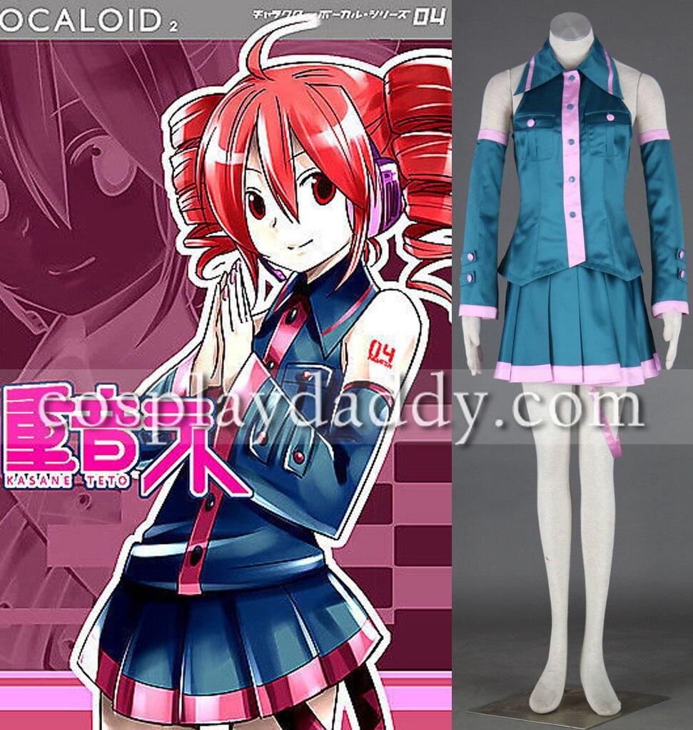 Vocaloid Família Cosplay-Kasane teto Outfit