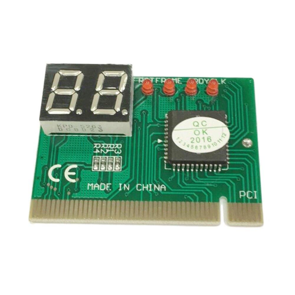 PCI PC diagnóstico Tarjeta de 2 dígitos placa madre Post probador analizador comprobador portátil
