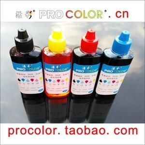 CISS Dye ink refill kit for hp 61XL Deskjet 2510 2511 2514 2540 2541 2542 2543 2544 2546 2547 2548 2549 Inkjet Cartridge printer