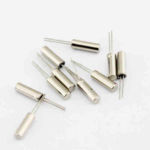 Тюнинговая вилка для часов, 20 шт., 32,768 кГц, 32768 Гц, с кристаллом 12,5pf, 3 мм x 8 мм