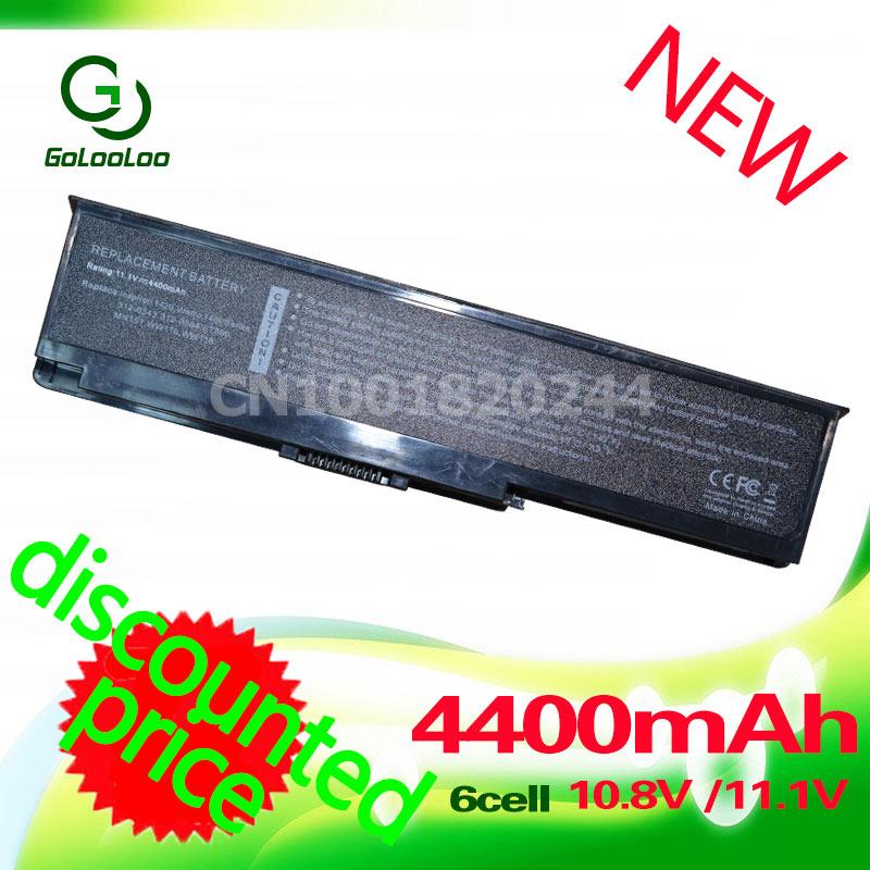 Golooloo 4400MaH лаптоп с Батарея для dell Inspiron 1420 Vostro 1400 312-0543 312-0584 451-10516 FT080 FT092 KX117 NR433 WW116