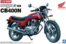 1/12 Moto Honda Hawk III CB400N 1978 05394