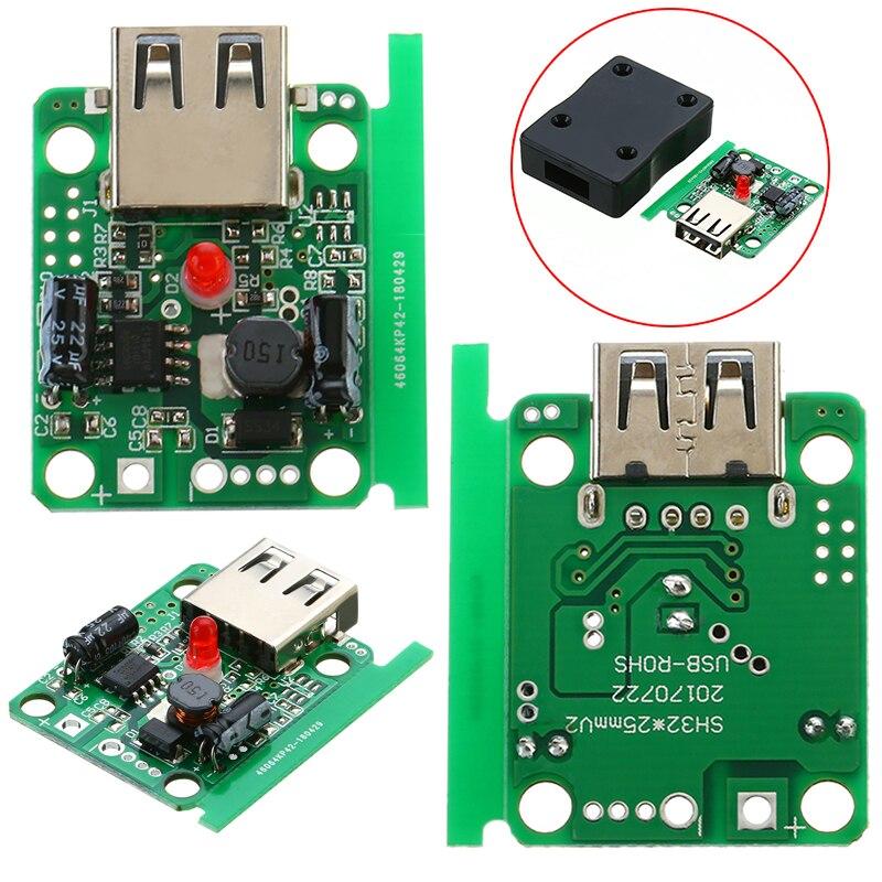 USB Painel Solar Regulador Buck Módulo DC 6 V-20 V 18 V para 5 V 2A Energia Solar regulador carregador Dobrável Saco Com Parafusos Da Tampa