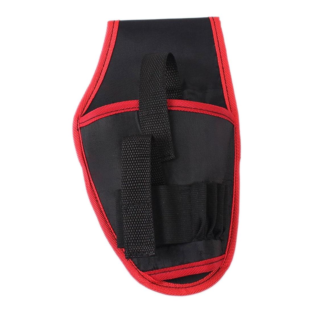 Sac à outils Portable ceinture de taille électricien outil pochette sac support perceuse étui pour 12V Lithium sans fil perceuse sac de rangement