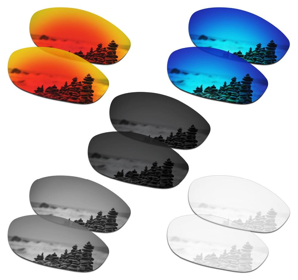 SmartVLT 5 pares de gafas de sol polarizadas lentes de repuesto para perro monstruo de Oakley-5 colores
