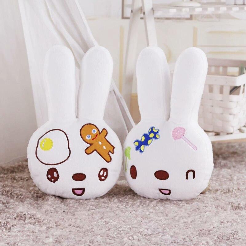 Newborns Baby Pillow Room Decoration Bunny Plush Toys Infant Kids Rabbit Baby Bedding Sleep Toys Doll For Boy Gift Baby Room